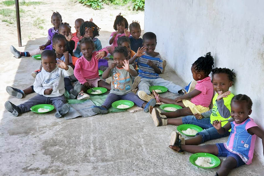 New Life Center in Zambia - Nutrition
