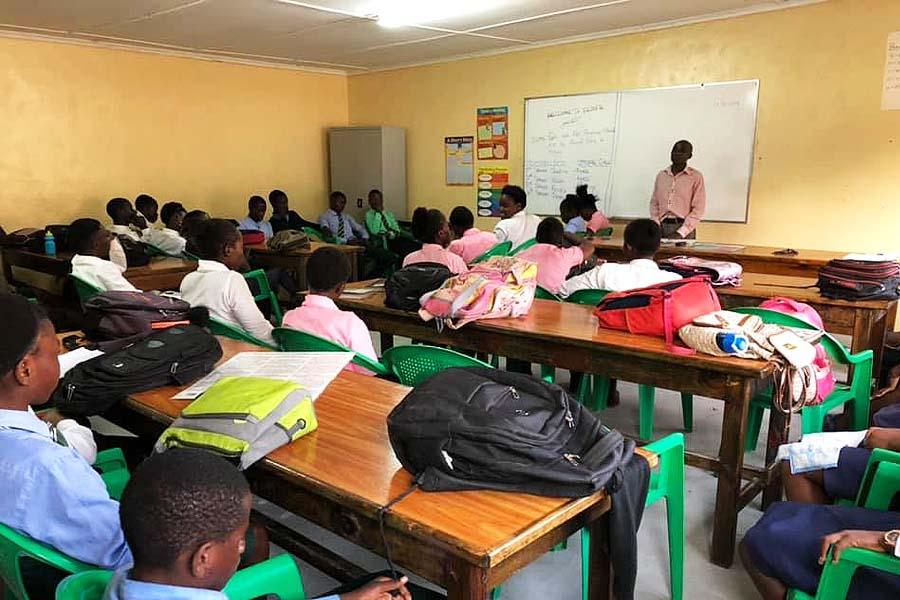 New Life Center in Zambia - Teaching Skills